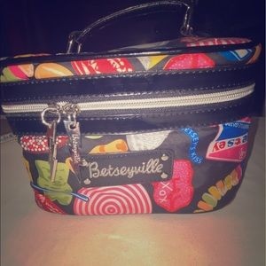 Betsey Johnson Cosmetics Bag